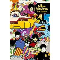 "The BeatlesイエローSubmarineポスター印刷24x 36 24"" x 36"" PSA034222"