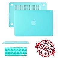 (アイシー・アイクローバー)IC ICLOVER ケースカバーとキーボードカバー Macbook Air 11/11.6インチ(A1465/A1370)用 超スリムで軽量 ゴム製 つや消し 硬質 保護用 Macbook Air 13 inch MacBookmskz563