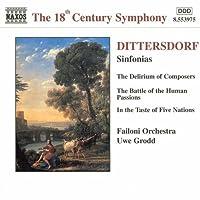 Dittersdorf: Sinfonias by DITTERSDORF (1998-08-25)
