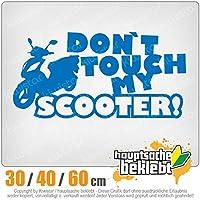 KIWISTAR - Dont touch Scooter Design 3 15色 - ネオン+クロム! ステッカービニールオートバイ