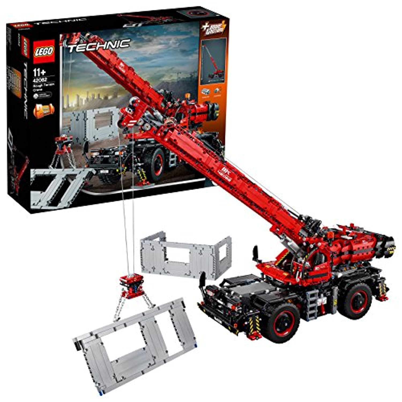 レゴ (LEGO) テクニック 全地形対応型クレーン 42082