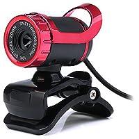 360度Rotatory HD Webカメラクリップ式PC Webカメラマイク付きホームオフィス用