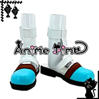 ●●サイズ選択可●●女性23CM MJR1393 コスプレ靴 ブーツ 超次元ゲイム ネプテューヌ ブラン BLANC