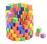 [Gallon's]積み木 カラフルで小さなキューブ積み木100個