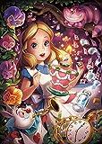 500ピース ジグソーパズル ディズニー きらめく夢の中で(アリス) 【光るパズル】 (35x49cm)