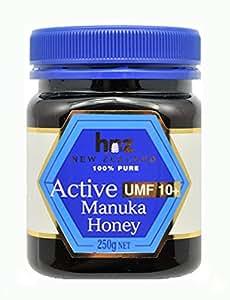 マヌカ ハニー アクティブ 10+ 250g 3個 セット hnz社 ( ハニー ニュージーランド )マヌカ蜂蜜