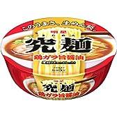 明星 究麺 鶏がら旨醤油 97g×12個