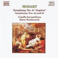 モーツァルト:交響曲25・32
