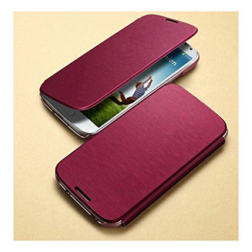 SGP GALAXY S4 用 ケース Ultra Flip Wallet Case ウルトラ フリップ ウォレット ケース カードポケット 付き メタリック レッド [並行輸入品]
