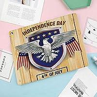 iPad Mini4 ケース 高級PUレザーケース オートスリープ機能付き 手帳型 全面保護 iPad mini4(7.9インチ)専用 スマートケース毎年恒例の国民の幸せな州芸術のイメージのためのお祝いパーティーの場所