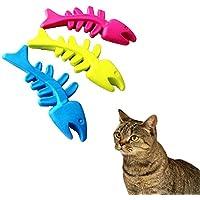 犬おもちゃ Hosam 犬 猫 噛むおもちゃ 歯を磨き デンタルケア 魚 遊び道具 1つ入れ 運動不足 ストレス解消