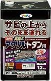 油性高耐久アクリルトタン用 12KG 赤さび 赤さび