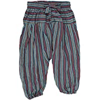 Shopoholic Fashion Children Hippie Harem Loose Boho Trouser Hippy Colorful Kids Retro Comfy Pants