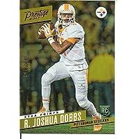 フットボールNFL 2017 Prestige Rookie Signatures Xtraポイントパープル# 229 R。Joshua Dobbs自動/ 100 Steelers