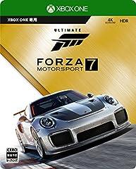 Forza Motorsport 7 アルティメットエディション (【特典】Steelbook特製ケース・アーリーアクセス・カーパス・VIPパック・The Fate of the Furious カーパック 同梱 &【Amazon.co.jp限定特典】「カスタム Driver Gear」2セットご利用コード 配信 同梱) 【Amazon.co.jp限定特典】1/43 スケールモデル「2018 Porsche 911 GT2 RS」 付