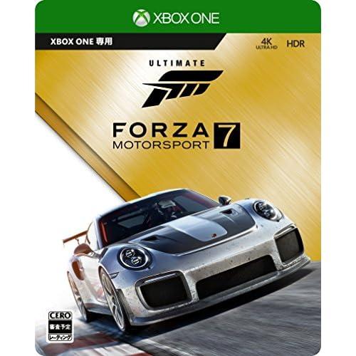 Forza Motorsport 7 アルティメットエディション 【特典】Steelbook特製ケース・アーリーアクセス・カーパス・VIPパック・The Fate of the Furious カーパック 同梱 &【Amazon.co.jp限定】「カスタム Driver Gear」2セットご利用コード 配信 & 1/43 スケールモデル「2018 Porsche 911 GT2 RS」 付
