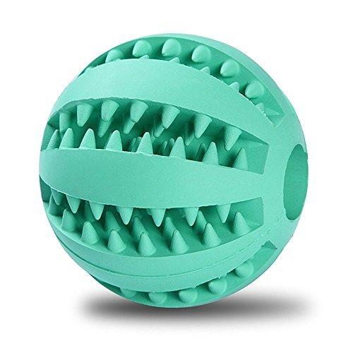 ペットおもちゃ ラバー製  噛む 餌入れ おやつボール 噛むボール 猫 愛犬へのプレゼントに