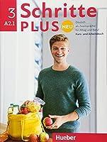Schritte Plus Neu - sechsbandige Ausgabe: Kursbuch + Arbeitsbuch A2.1 + CD zum