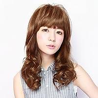 TFX-06 ぱっつんシャギーちゃんプラス 耐熱 つむじ付き 前髪ウィッグ (プリシラ) PRISILA