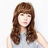 TFX-06 ぱっつんシャギーちゃんプラス 耐熱 つむじ付き 前髪ウィッグ (プリシラ) PRISILA (TNC)
