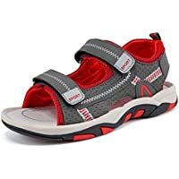 Kids Boy and Girl's Adjustable Strap Athletic Sports Sandals Summer Outdoor Beach Shoes