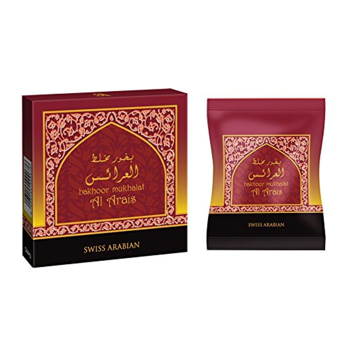 適切に核タイプライターswissarabian Mukhalat Al Arais Bakhoor (40g) Incense