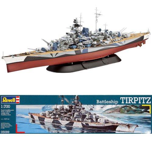 【レベル・Revell 】戦艦ティルピッツ・Tirpitz /モデルキット【並行輸入】