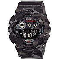 GSHOCK Men's Digital Wrist Watch digital Display and Resin Strap, GD120CM-8D