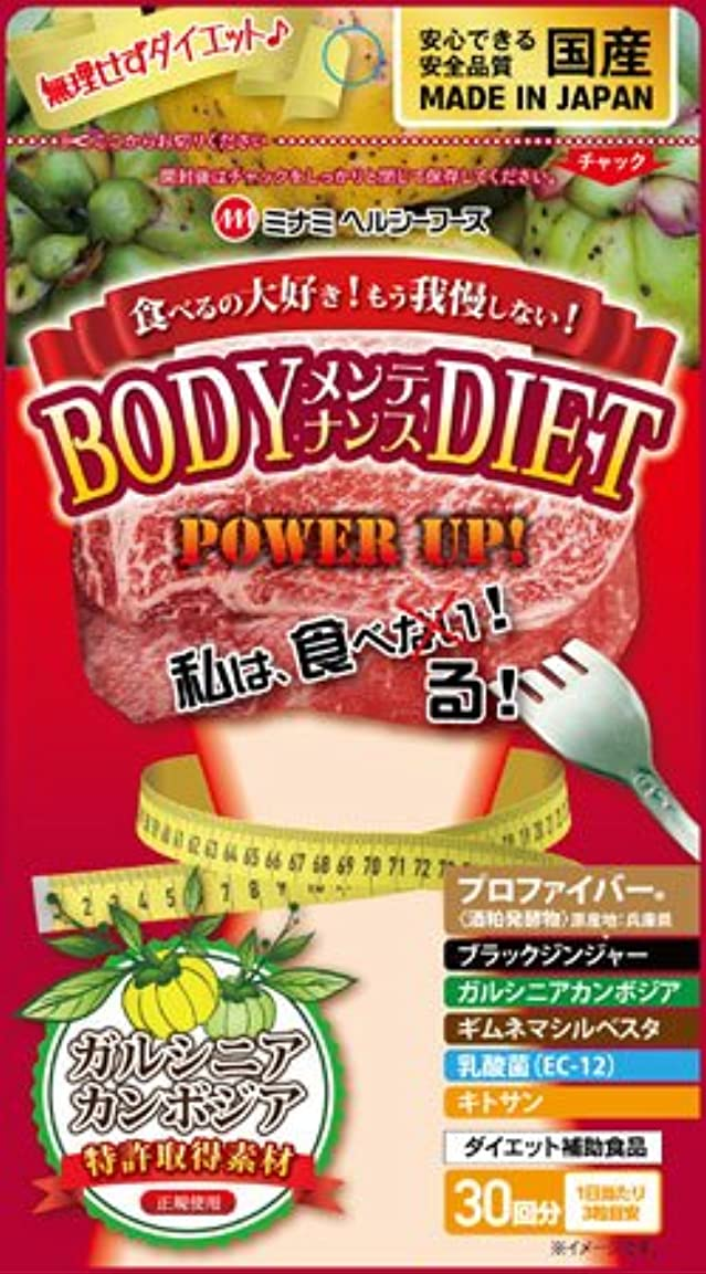 口径気配りのあるつづりミナミヘルシーフーズ ボディメンテナンスダイエット90粒 ×2