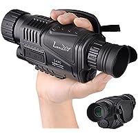 landove 5 x 40 mm赤外線HDデジタルナイトビジョンMonocular 1.5インチTFT LCDとカメラ&ビデオカメラ機能Takes 5 MP写真720pビデオ最大350 M/1150ft検出距離for Night Watchingまたは