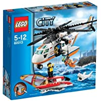 レゴ (LEGO) シティ レスキューヘリコプターとカタマラン 60013