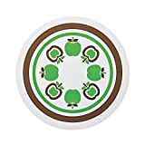 IH用焼け焦げ防止マット  グリーンアップル 2枚セット
