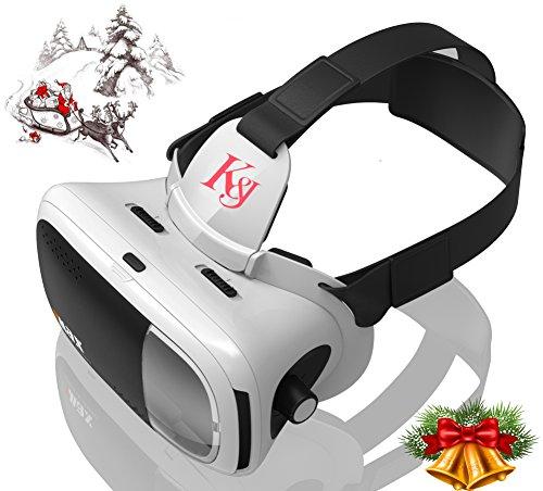 K&J 3D ゴーグル 軽量 豪華型 良い臨場感 3Dメガネ  新たなデサイン 超3D映像効果 日本語説明書付きしてください