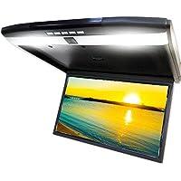 超薄型17.3インチワイドスクリーン フリップダウンモニター HDMI端子/USB端子/マイクロSDスロット付 超高画質フルHD【F1731BH】