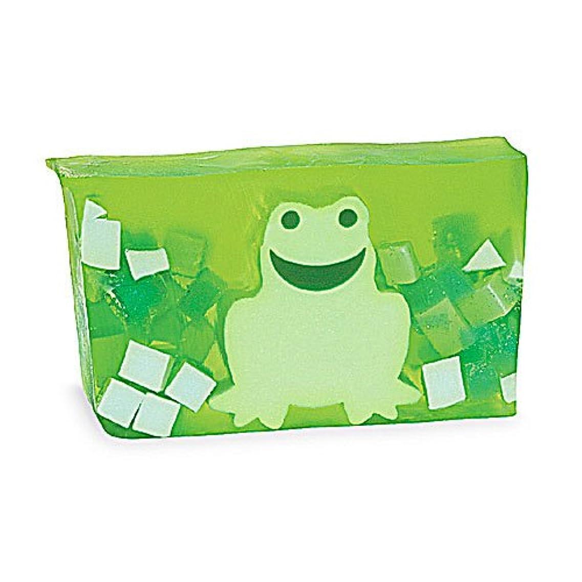 ゴミ箱申請中剪断プライモールエレメンツ アロマティック ソープ/フロッグ 180g 植物性 ナチュラル 石鹸 無添加