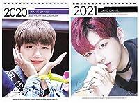 WANNA ONE カンダニエル 2020-2021年 2年間卓上カレンダー[2020-2021 K-STAR PHOTO DESK CALENDAR 2020-2021]