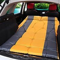 CGN 車のショックベッドカートラベルベッド自動インフレータブルマットレスカーアウトドアキャンプパッドオフ - ロード車スリーピングパッドベッド 持ち運びが容易 ( 色 : イエロー いえろ゜ )