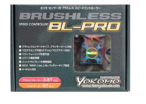 ヨコモ BL-PRO センサー付 ブラシレス スピードコントローラー BL-PRO