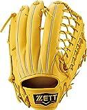ZETT(ゼット) 硬式野球 プロステイタス グラブ (グローブ) 外野手用 トゥルーイエロー(5400) 右投げ用 BPROG770