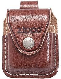 ZIPPO ライターケース レザー ループ ブラウン LPLBW