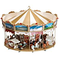 HO Scale Children's Merry Go Round - Kit -- 4-5/8 x 3-1/4 12.2 x 8.2cm by Faller