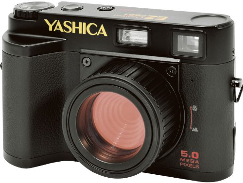 YASHICA クラッシックスタイル 500万画素デジタルカメラ EZ F521 <31938>