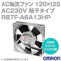オムロン(OMRON) R87F-A6A13HP AC軸流ファン 230V (120×t25 端子タイプ) (回転数 50Hz 2400回) NN