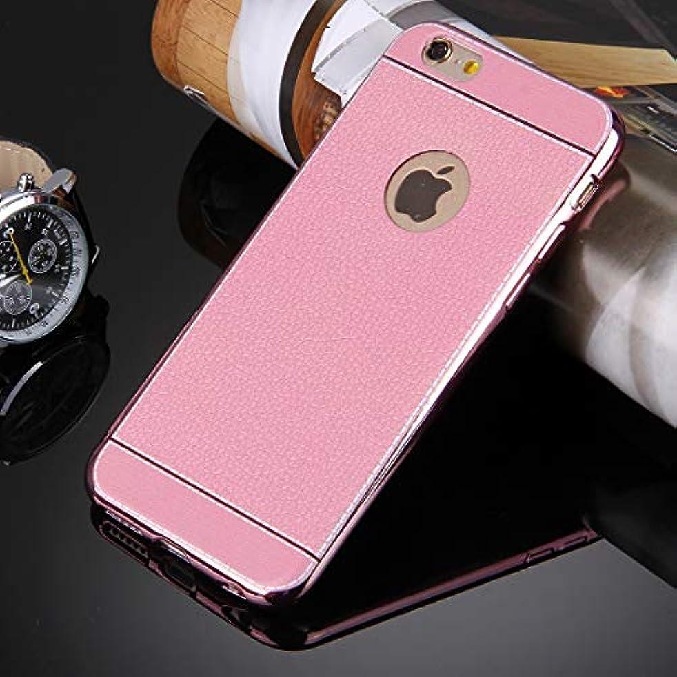 やりがいのある空白代数YMF iPhone 6 Plus&6s Plus 用3DリッチーテクスチャーソフトTPU保護ケース (Color : ピンク)
