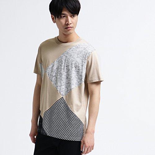 ティーケー タケオキクチ アーガイルパッチワークTシャツ 17034307 02(M) ベージュ(552)