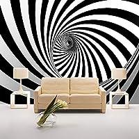 Xueshao 写真の壁紙現代の3D抽象リビングルームの壁紙3D壁壁画ゼブラライン背景の壁カバー壁紙の装飾-200X140Cm