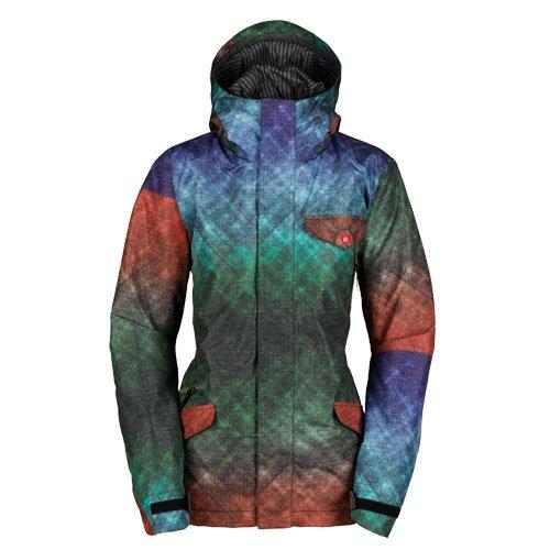 BONFIRE(ボンファイア) スノーボード ジャケット TEDDY JACKET レディース Mサイズ PRINTGREEN teddy-jacket-M-L36850000-PRINTGREEN