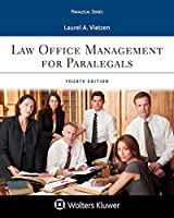 Law Office Management for Paralegals (Aspen Paralegal)