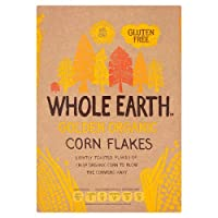 Whole Earth Corn Flakes 375 g (order 12 for trade outer) / ホールアースコーンフレーク375グラム(商品アウター用12受注)
