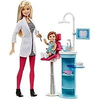 輸入バービー人形職業バービーワールドモデル Barbie Careers Dentist Playset [並行輸入品]